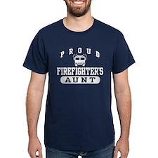 Proud Firefighter's Aunt T-Shirt