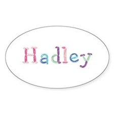 Hadley Princess Balloons Oval Decal