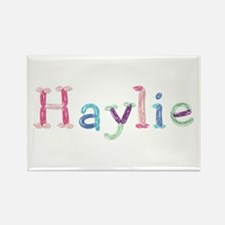Haylie Princess Balloons Rectangle Magnet