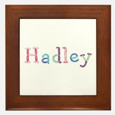 Hadley Princess Balloons Framed Tile