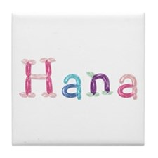 Hana Princess Balloons Tile Coaster