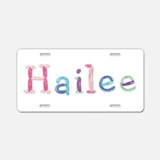 Hailee Princess Balloons Aluminum License Plate