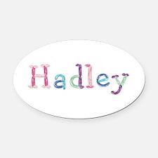 Hadley Princess Balloons Oval Car Magnet
