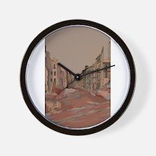 Bürgerwiese in die Bankstrass Wall Clock