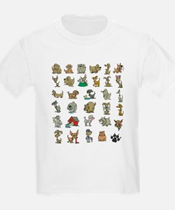 Funny dogs - T-Shirt