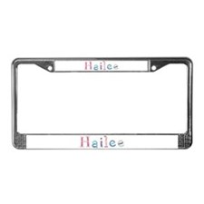 Hailee Princess Balloons License Plate Frame