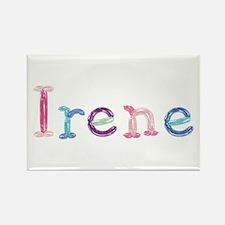 Irene Princess Balloons Rectangle Magnet
