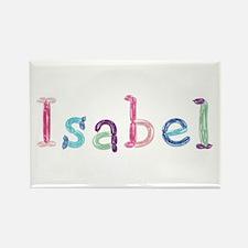 Isabel Princess Balloons Rectangle Magnet
