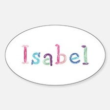 Isabel Princess Balloons Oval Decal