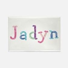 Jadyn Princess Balloons Rectangle Magnet