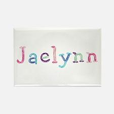 Jaelynn Princess Balloons Rectangle Magnet