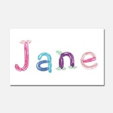 Jane Princess Balloons 20x12 Car Magnet