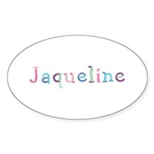 Jaqueline Princess Balloons Oval Decal