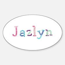 Jazlyn Princess Balloons Oval Decal