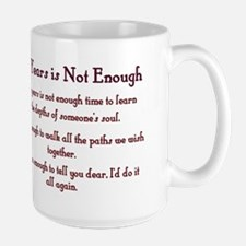 Golden Anniversary - Not Enough Large Mug