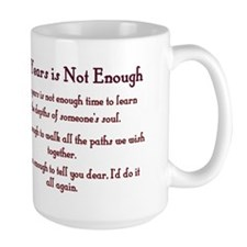 Golden Anniversary - Not Enough Coffee Mug