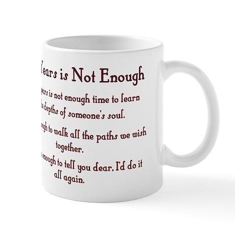 Golden Anniversary - Not Enough Mug
