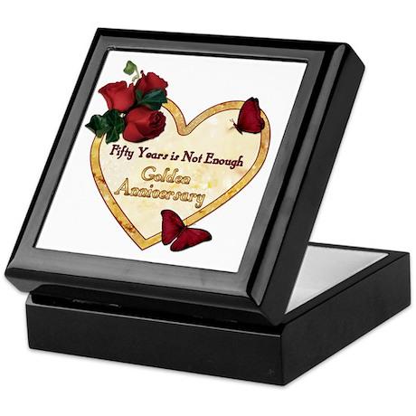 Golden Anniversary - Not Enough Keepsake Box