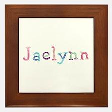 Jaelynn Princess Balloons Framed Tile