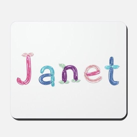 Janet Princess Balloons Mousepad