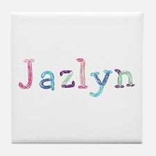 Jazlyn Princess Balloons Tile Coaster