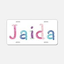 Jaida Princess Balloons Aluminum License Plate