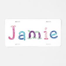 Jamie Princess Balloons Aluminum License Plate