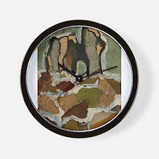 Collage Ruine Wall Clock