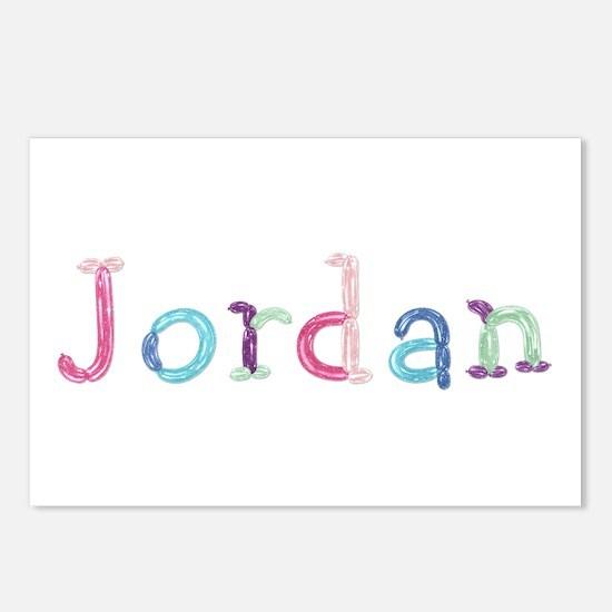 Jordan Princess Balloons Postcards 8 Pack