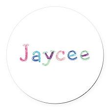 Jaycee Princess Balloons Round Car Magnet