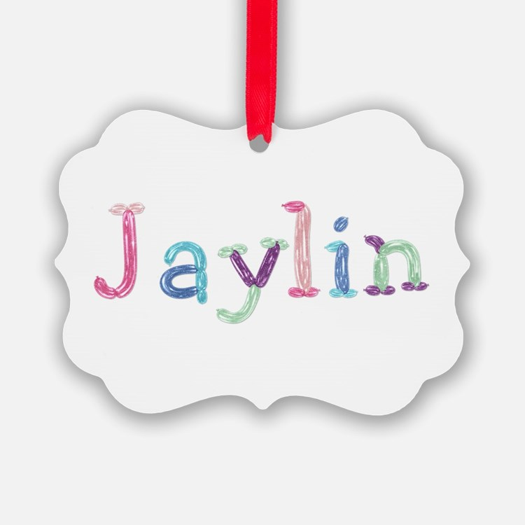 Jaylin Princess Balloons Ornament