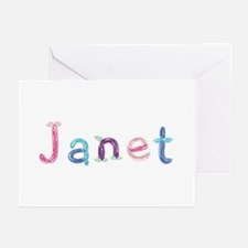 Janet Princess Balloons Greeting Card 20 Pack