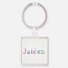 Jaiden Princess Balloons Square Keychain