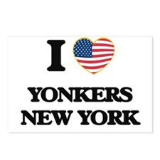I love Yonkers New York Postcards (Package of 8)