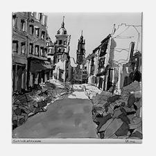 Schlossstrasse Tile Coaster