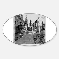 Schlossstrasse Oval Decal