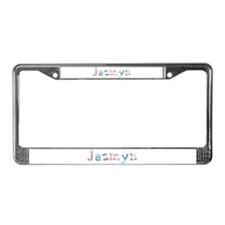 Jazmyn Princess Balloons License Plate Frame