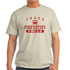 Proud Firefighter's Uncle T-Shirt