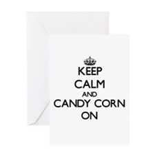 Keep Calm and Candy Corn ON Greeting Cards
