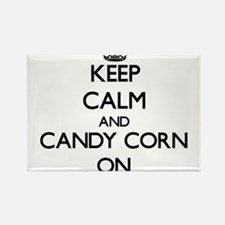 Keep Calm and Candy Corn ON Magnets