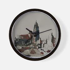 Von der Viktoriastrasse Wall Clock