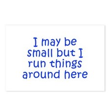 I may be small but I run things around here-Kri bl