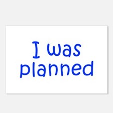 I was planned-Kri blue 300 Postcards (Package of 8