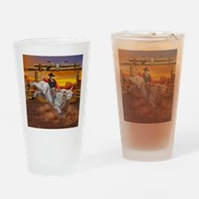 Ride 'em Cowboy Drinking Glass