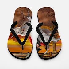 Ride 'em Cowboy Flip Flops