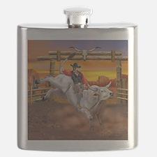 Ride 'em Cowboy Flask