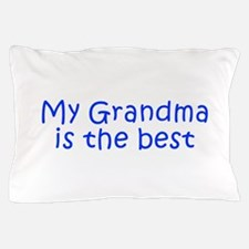 My Grandma is the best-Kri blue 350 Pillow Case