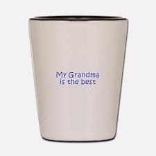 My Grandma is the best-Kri blue 350 Shot Glass