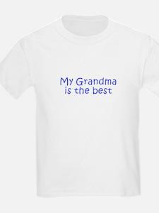 My Grandma is the best-Kri blue 350 T-Shirt