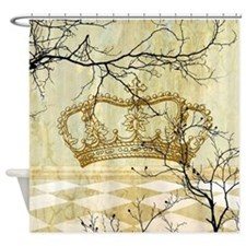 Cute Royal Shower Curtain